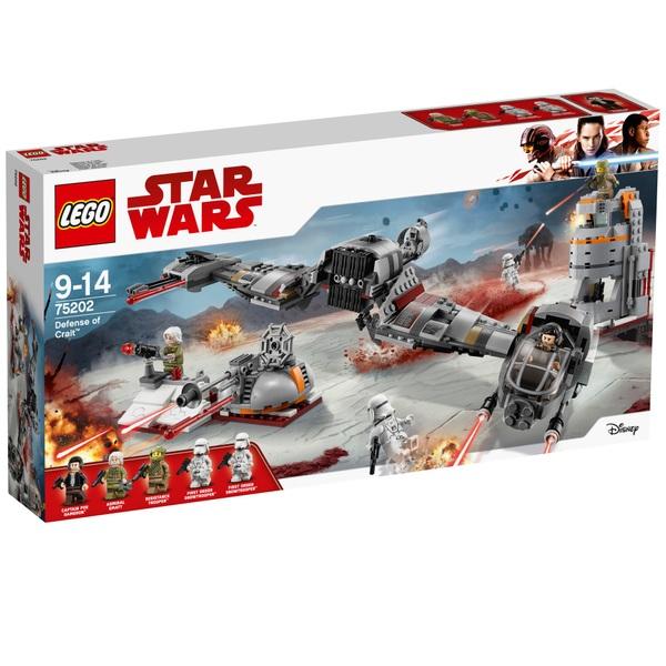 LEGO 75202 Star Wars Defense of Crait Building Set