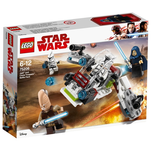 LEGO 75206 Star Wars Jedi and Clone Troopers Battle Pack Set