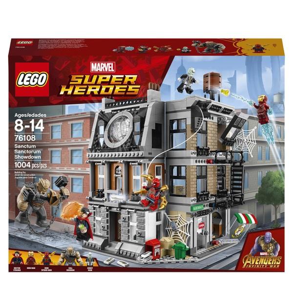LEGO 76108 Marvel Avengers Sanctum Sanctorum Showdown Toy