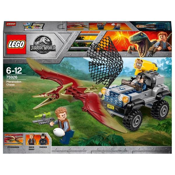 LEGO 75926 Jurassic World Pteranodon Chase Dinosaur Toy