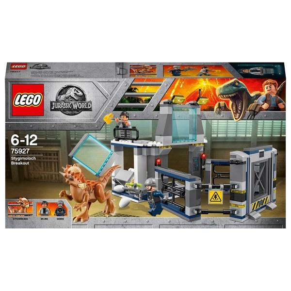 LEGO 75927 Jurassic World  Stygimoloch Breakout Dinosaur Toy