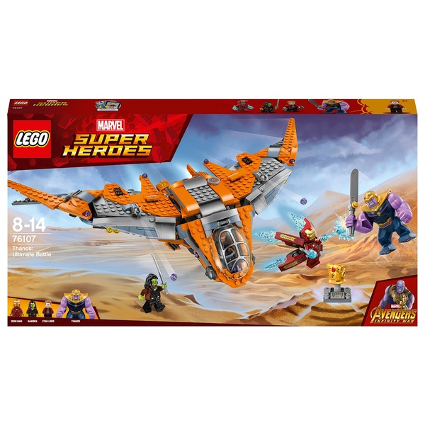 LEGO 76107 Marvel Avengers Thanos Ultimate Battle Superhero Toy