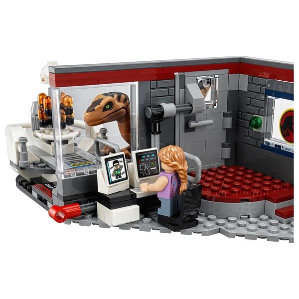 lego 75932 jurassic world jurassic park velociraptor chase - Jurassic Lego