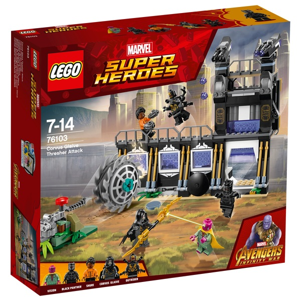 LEGO 76103 Marvel Super Heroes Corvus Glaive Thresher Attack Toy