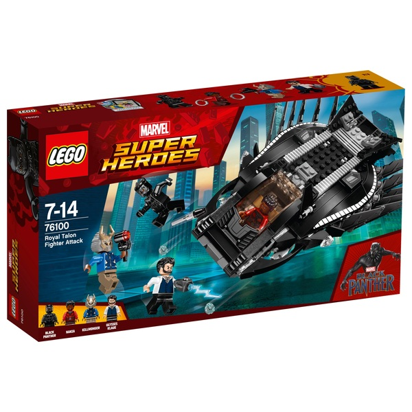 LEGO 76100 Marvel Super Heroes Royal Talon Fighter Attack Toy