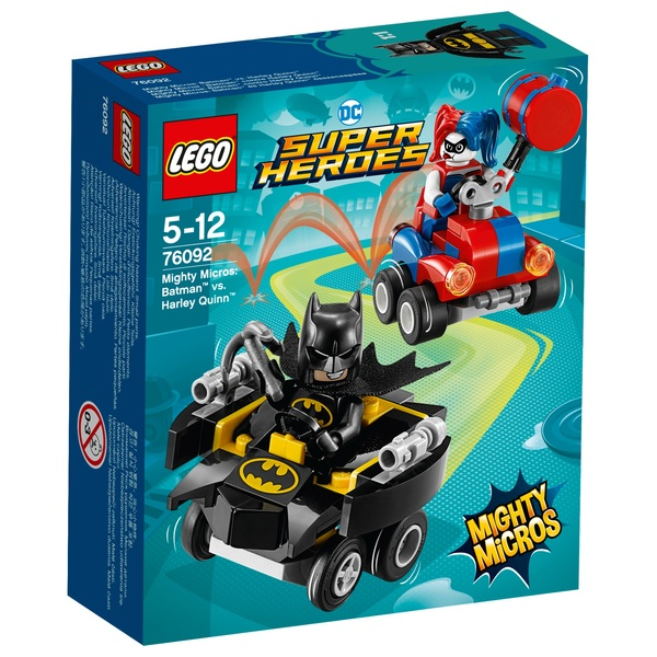 LEGO 76092 DC Super Heroes Mighty Micros: Batman vs. Harley Quinn