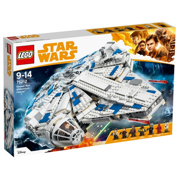 LEGO 75212 Star Wars Kessel Run Millennium Falcon Building Set