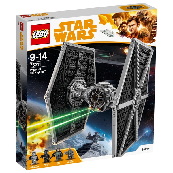 LEGO 75211 Star Wars Imperial TIE Fighter Toy Building Set