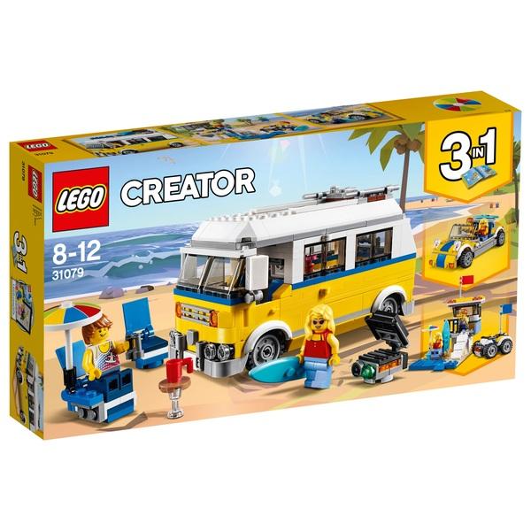 LEGO 31079 CREATOR Sunshine Surfer Van 3in1 Construction Toy