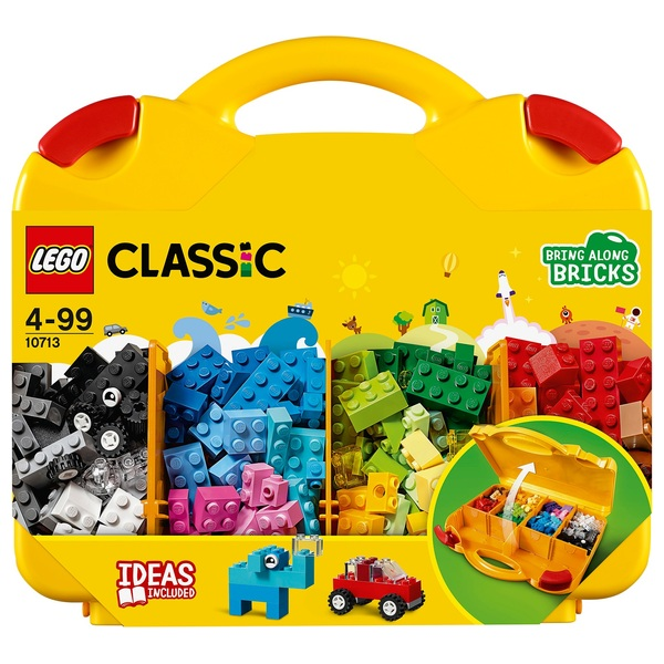 LEGO 10713 Classic Creative Suitcase Building Bricks