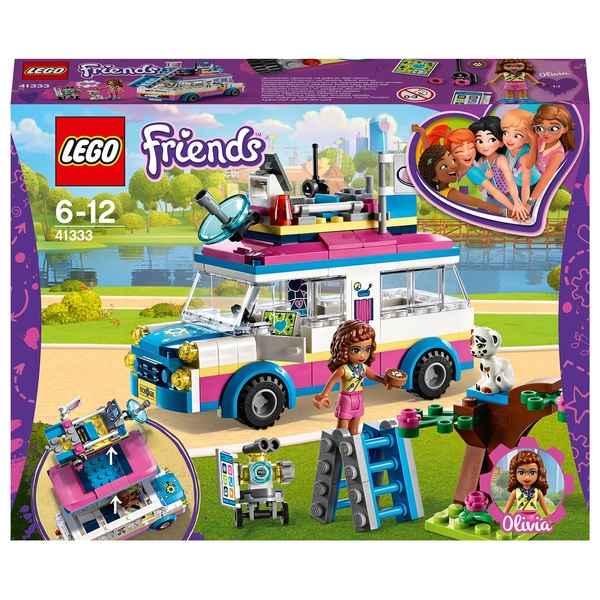 LEGO 41333 Friends Heartlake Olivia's Mission  Vehicle Toy