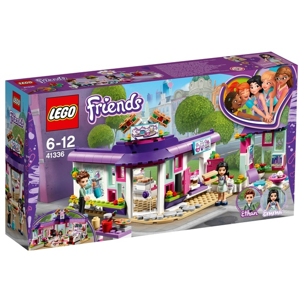 LEGO 41336 Friends Heartlake Emma's Art Café Toy Playset