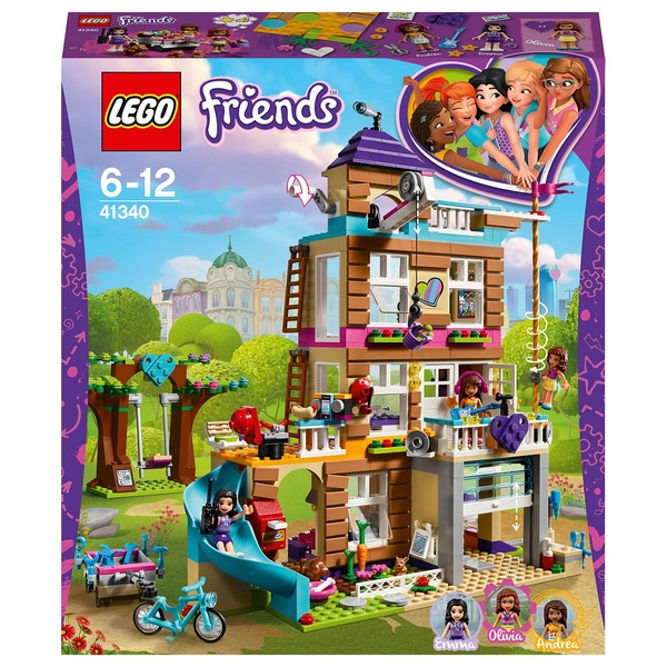 LEGO 41340 Friends Heartlake Friendship House Building Set
