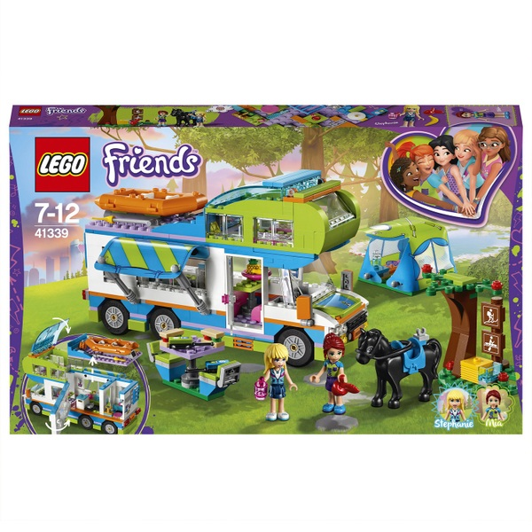 LEGO 41339 Friends Heartlake Mia's Camper Van Toy