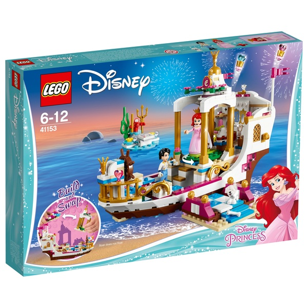 LEGO 41153 Disney Princess Ariel's Royal Celebration Boat Toy
