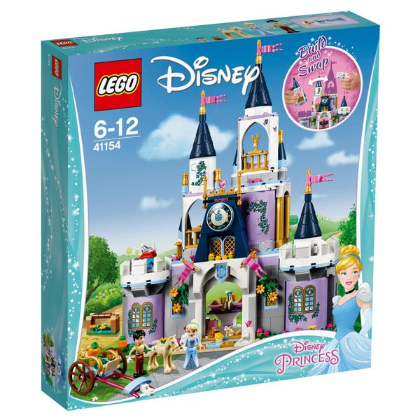 LEGO 41154 Disney Princess Cinderella's Dream Fairytale Castle Toy
