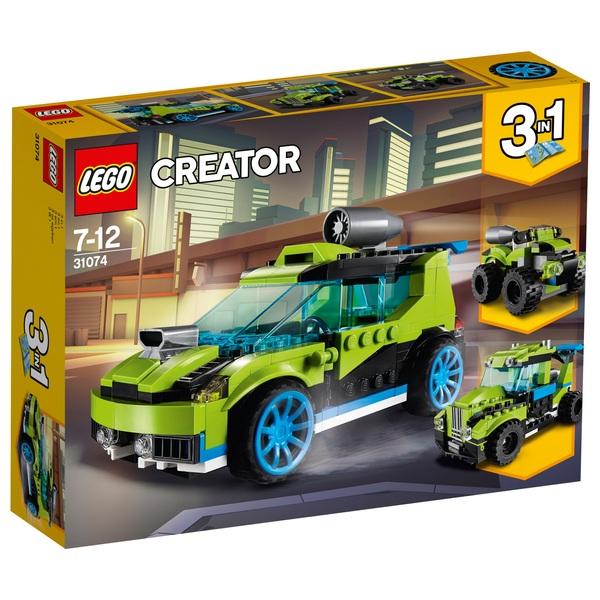 Lego 31074 creator rocket rally car lego creator uk - Lego ninjago voiture ...