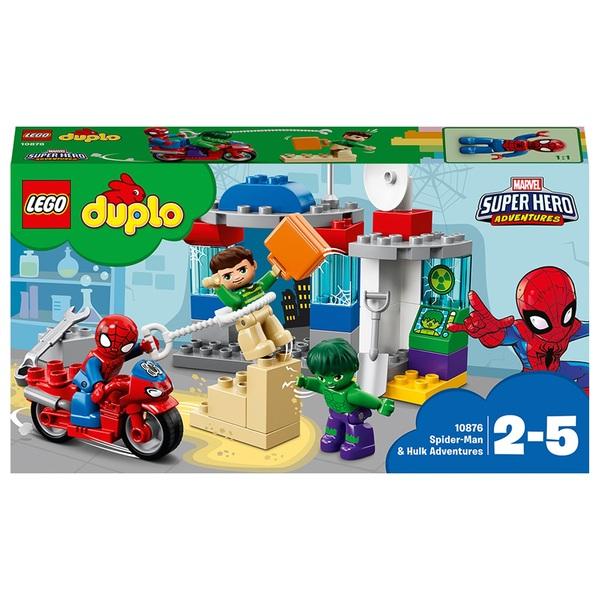 LEGO 10876 DUPLO Super Heroes Spider Man & Hulk Adventure Toy
