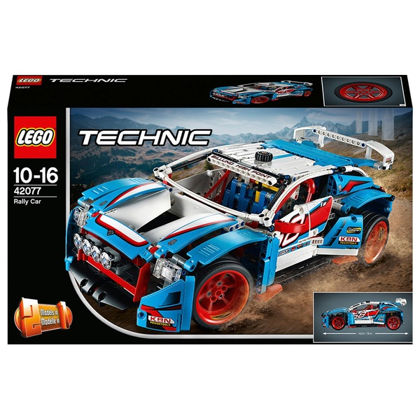 LEGO 42077 Technic Rally Car & Buggy Toy Racing Building Set
