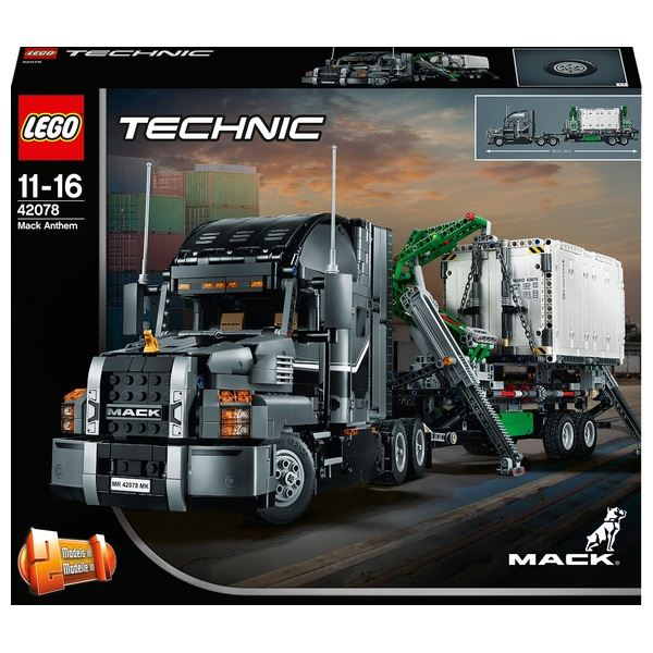 LEGO 42078 Technic Mack Anthem Toy Truck Replica
