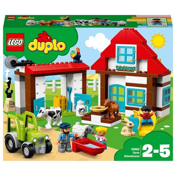 LEGO 10869 Duplo My Town Farm Adventures Toy Animal Figures