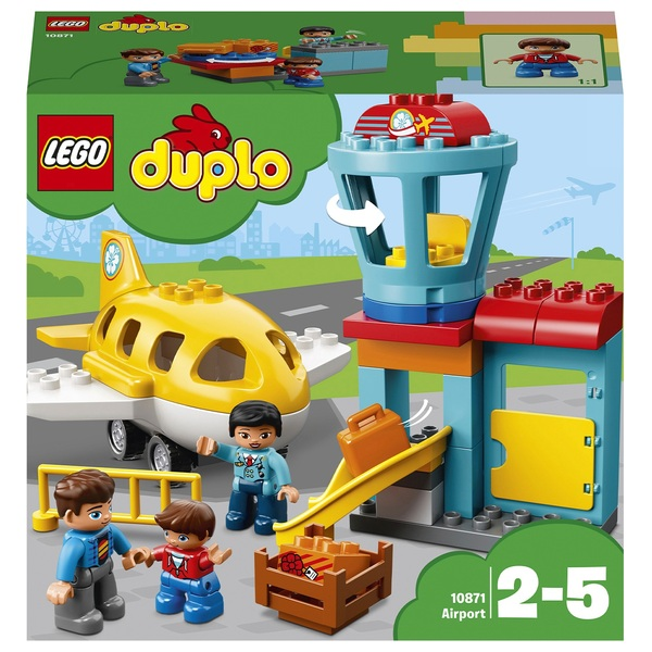 Desktop Toys For Grown Ups : Lego duplo airport uk
