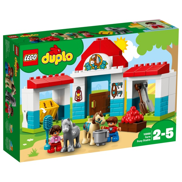 LEGO 10868 Duplo Farm Pony Stable