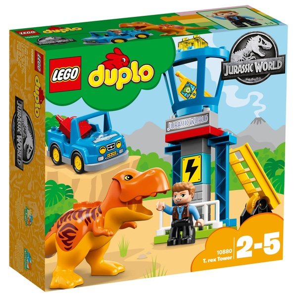 LEGO 10880 Duplo Jurassic World T.rex Tower
