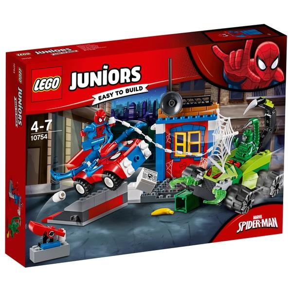 LEGO 10754 Juniors Spider-Man vs. Scorpion Street Showdown