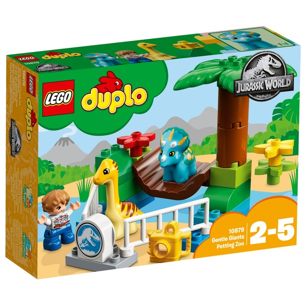 LEGO 10879 Duplo Jurassic World Gentle Giants Petting Zoo