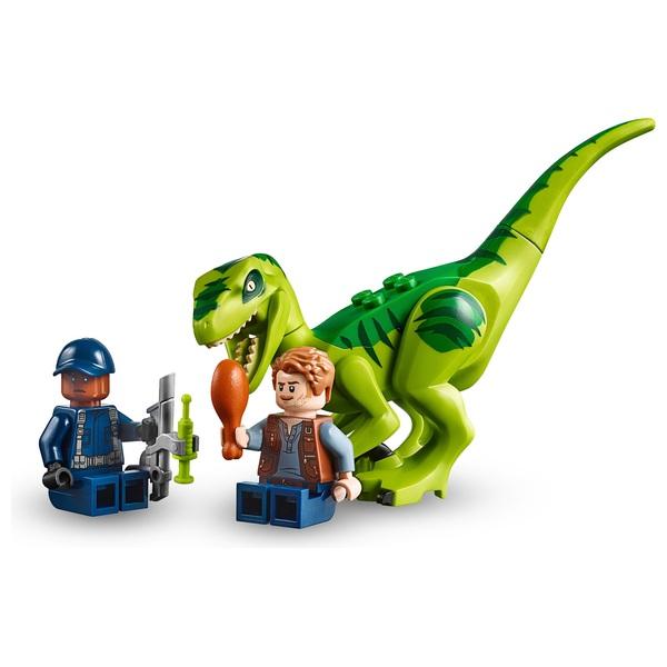 Lego 10757 Juiors Jurassic World Raptor Rescue Dinosaur Toy