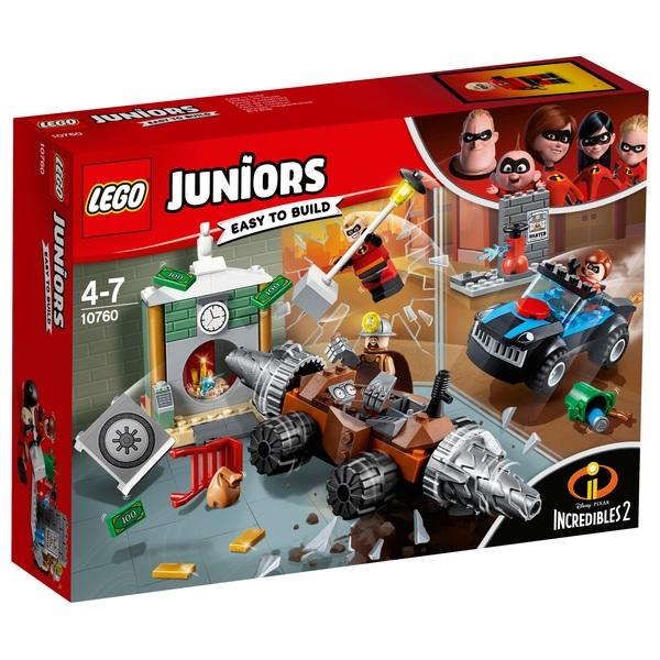LEGO 10760 Juniors The Incredibles 2 Underminer Bank Heist