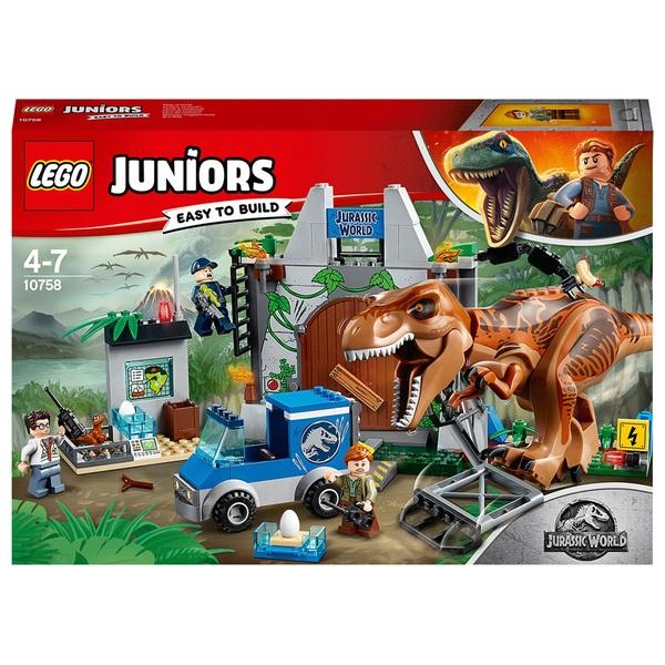 LEGO Juniors 10758 Jurassic World T-Rex Breakout