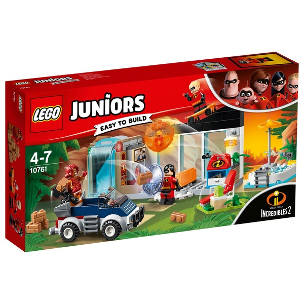 LEGO 10761 Juniors The Incredibles 2 Great Home Escape Toy