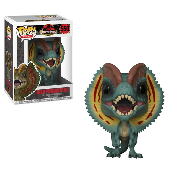 POP! Vinyl: Jurassic Park: Dilophosaurus
