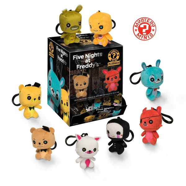 POP! Vinyl: Five Night's at Freddy's Plush Keychain Mystery Minis - Assortment