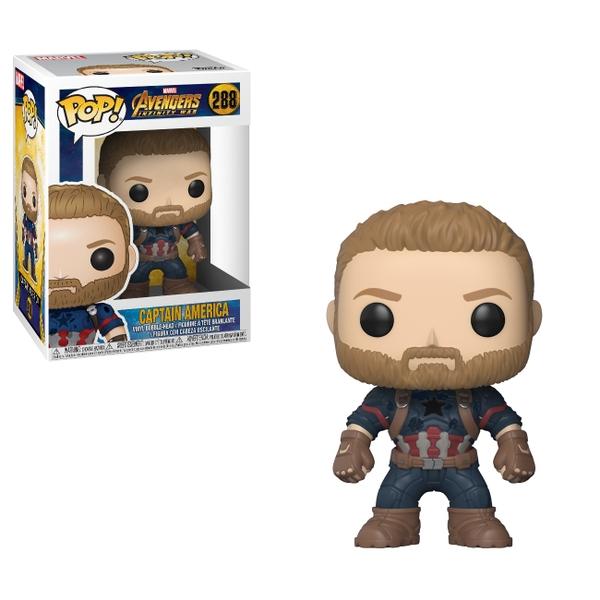 POP! Vinyl Marvel Avengers Infinity War Captain America Figure