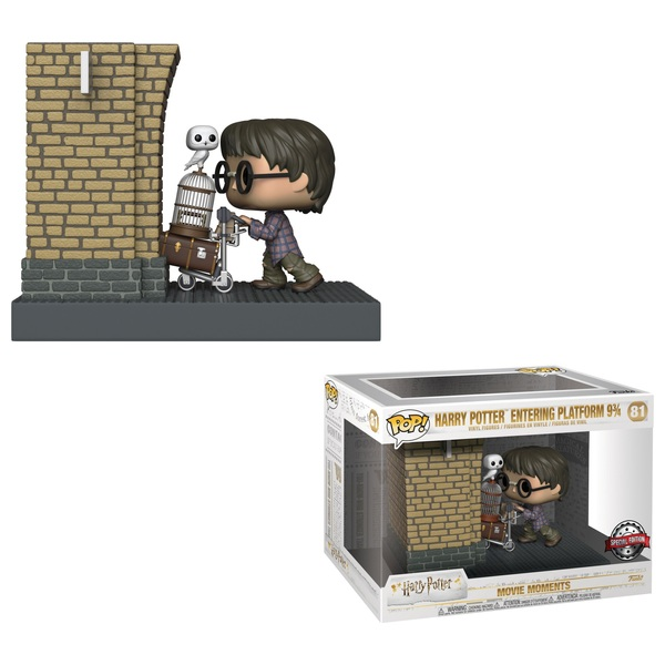 Harry Entering Platform 9 3/4 - Pop! Movie Moment: Harry Potter