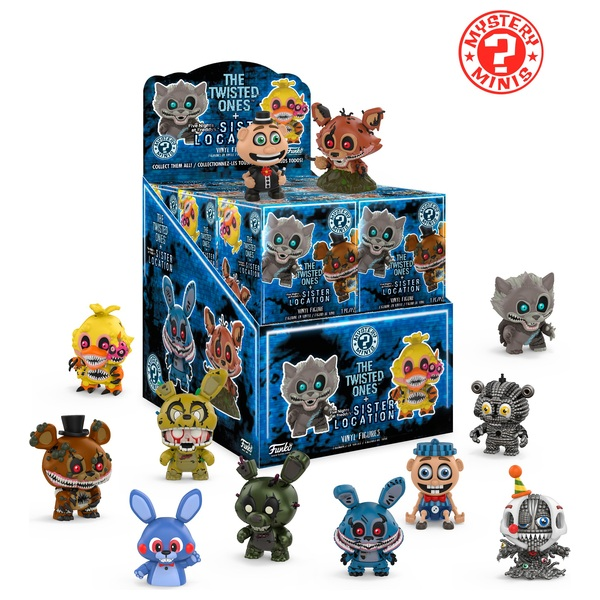 Mystery Minis Five Nights at Freddys The Twisted One's  - Assortment