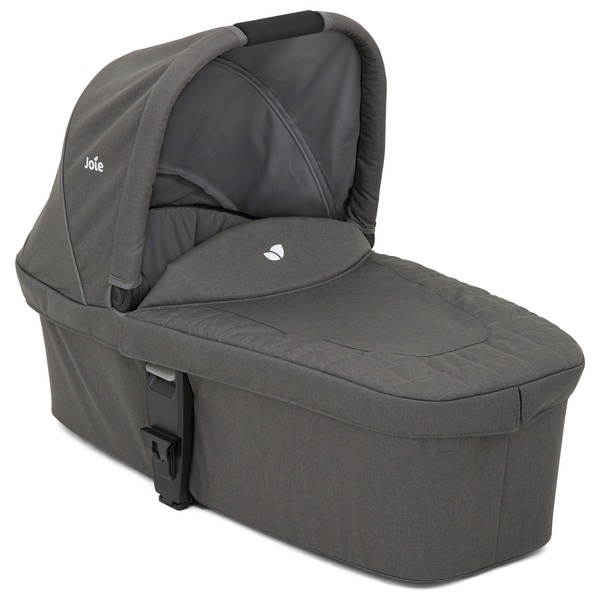 Joie Chrome Carry Cot Foggy Grey