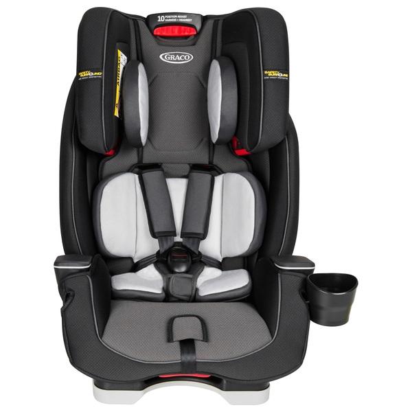 Graco Milestone LX Group 0 1 2 3 Car Seat Midnight Grey