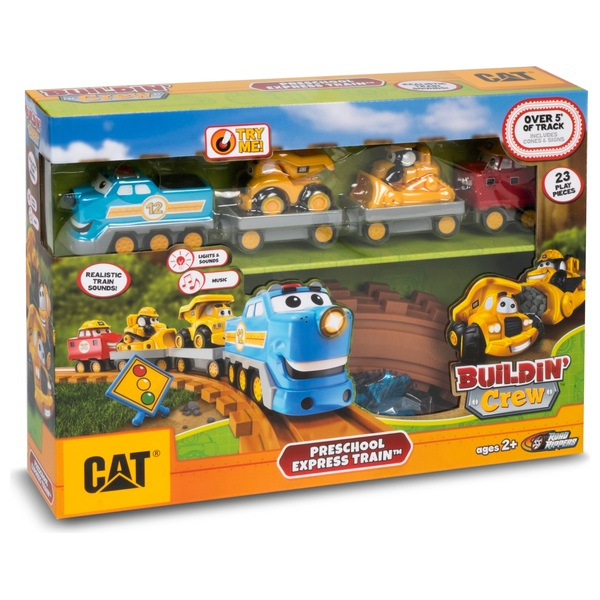 CAT Preschool Characterised Express Train with Lights and Sounds