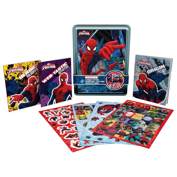 Spider-Man Happy Tin