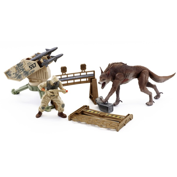 Rampage the Movie Canister Contact Ralph Set