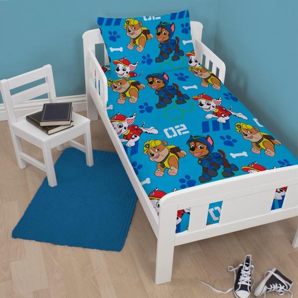 Paw Patrol 4 in 1 Junior Bed Bundle