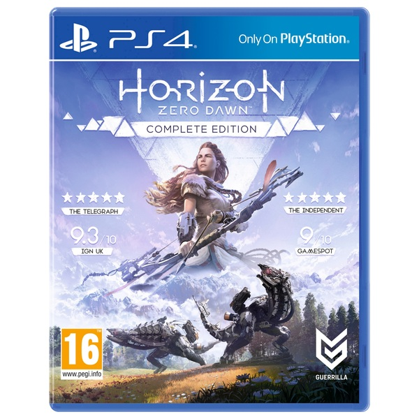 Horizon Zero Dawn: The Complete Edition PS4