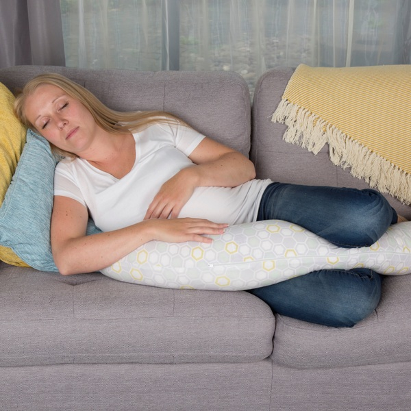 CuddleCo Comfi Mum Bamboo Memory Foam Feeding Pillow