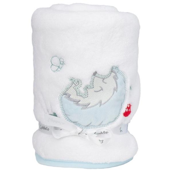 CuddleCo Comfi Hugs Sweet Dreams Luxury Fleece Blanket- Hedgehog