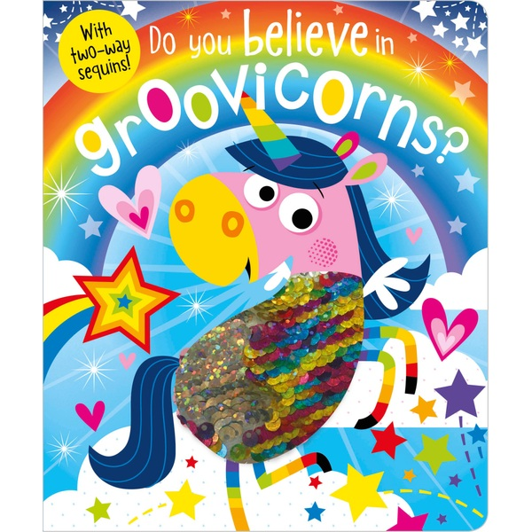 Do You Believe in Groovicorns, Touch and Feel Book by Rosie Greening