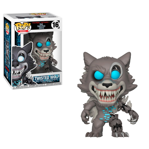 POP! Vinyl Five Nights at Freddys Twisted Wolf Figure